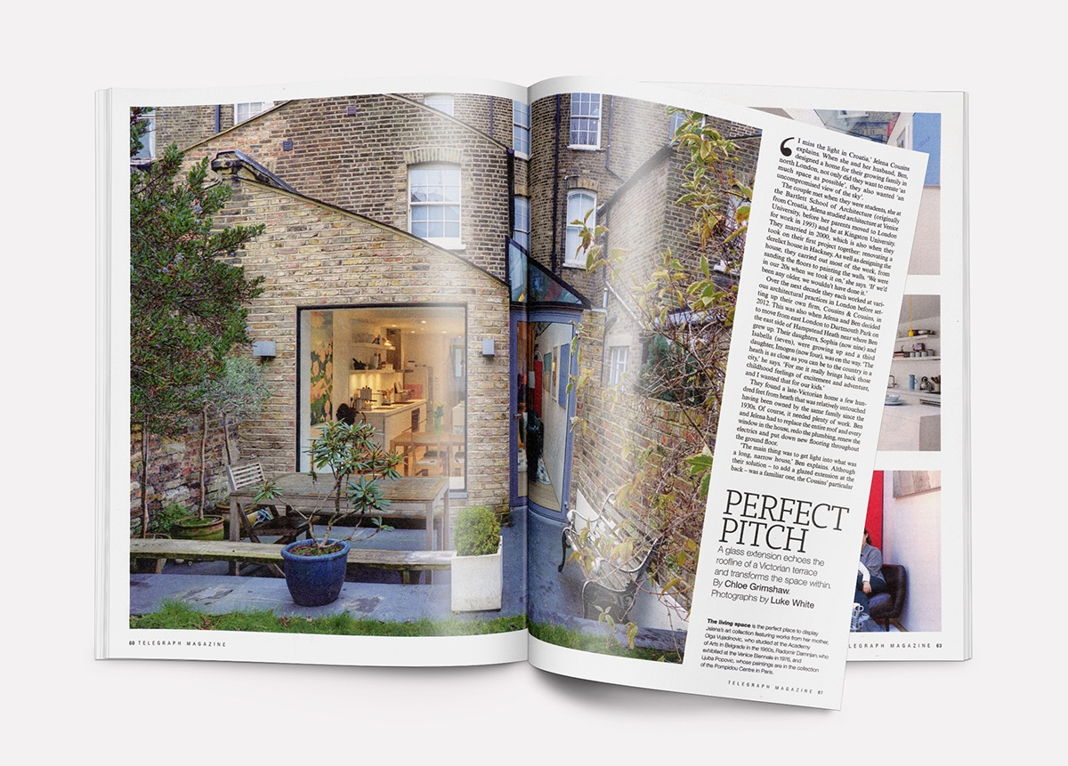 Chetwynd Road Featured in the Telegraph