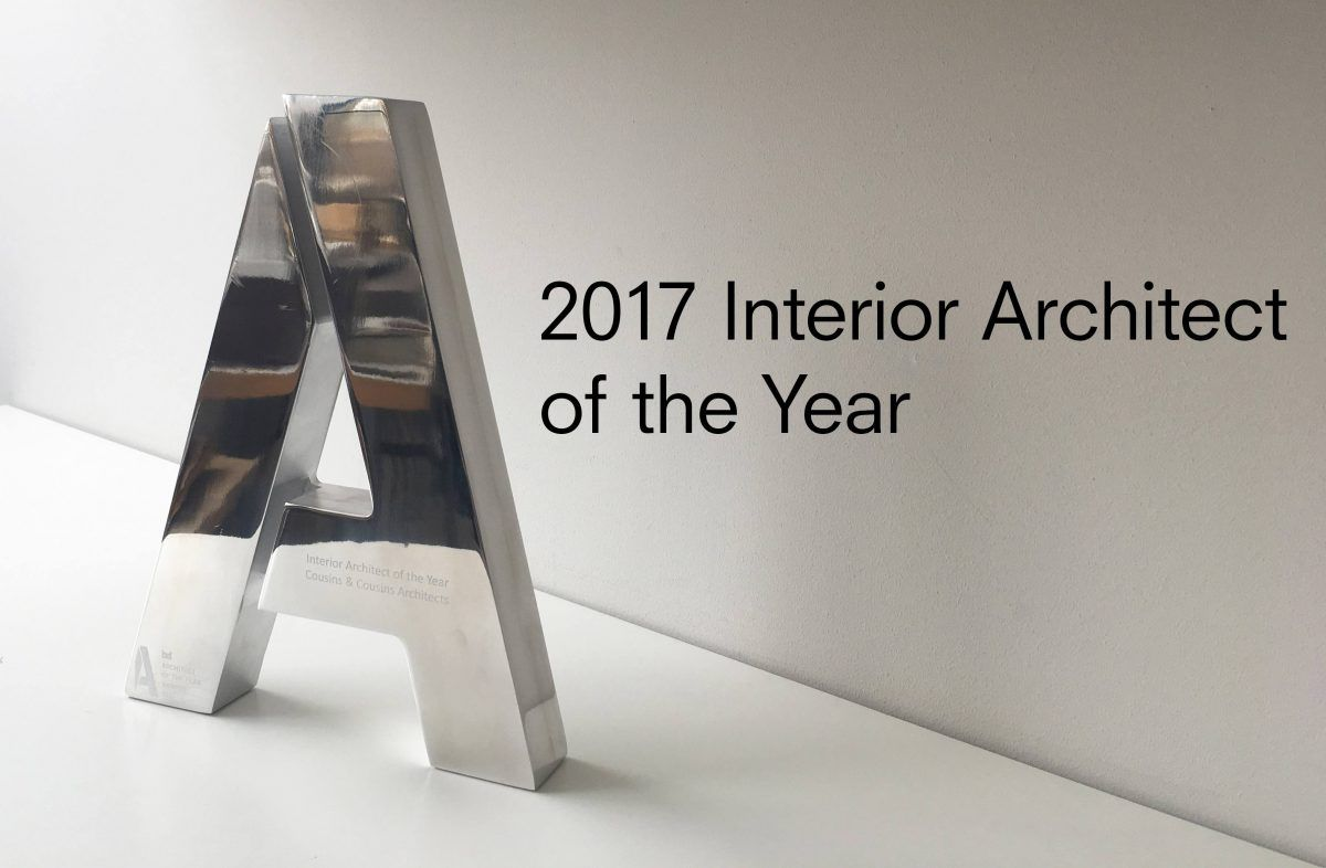 Cousins & Cousins 2017 Interior Architect of the Year