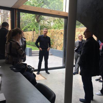 RIBA Patrons Tour De Beauvoir House