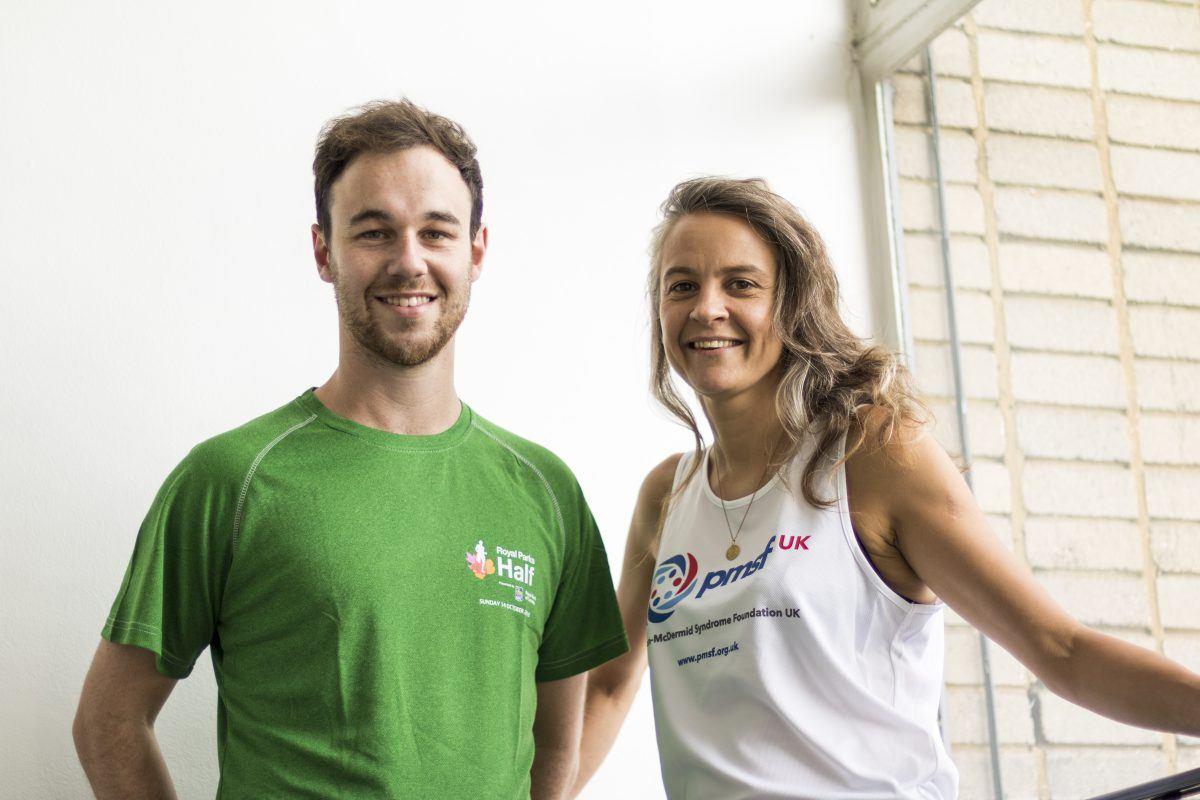 We're running the Royal Parks Half Marathon