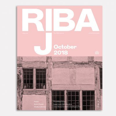 Kenwood Lee House featured in the RIBA Journal