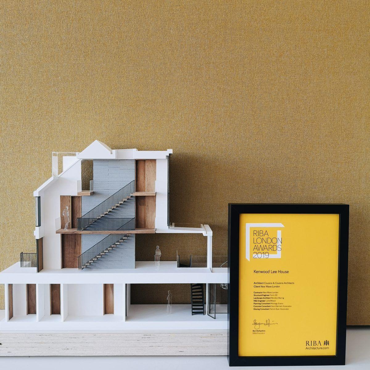 Kenwood Lee House Wins RIBA London Award