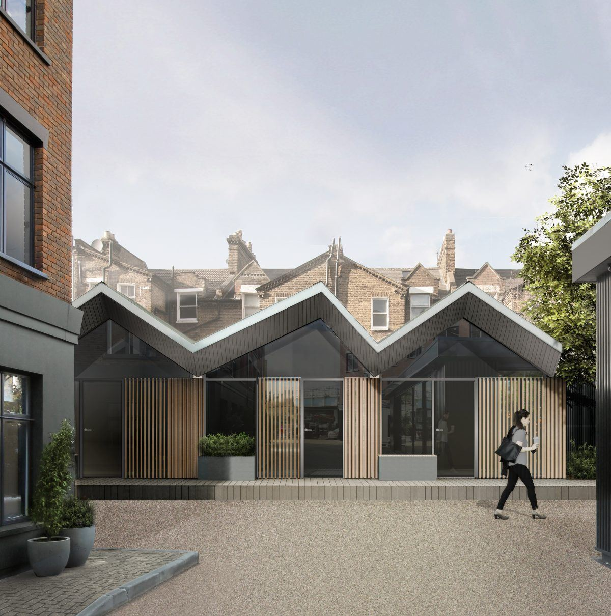 Modular Offices granted Planning Permision in Fulham